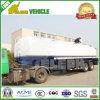 Suspension en acier de 2 essieux 40000 litres de remorque de réservoir de stockage de pétrole