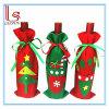 Мешки крышки бутылки красного вина рождественской елки и мешки подарка/мешки конфеты для украшения рождества