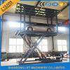 A plataforma dobro Scissor a plataforma do elevador do carro para o estacionamento ou a garagem