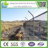 Heißes BAD galvanisierter Standardsicherheits-Kettenlink-Zaun mit Stacheldraht