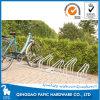 Soporte para el suelo montados en bastidor de acero de la bici para Garaje