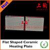 Placa de aquecimento cerâmica horizontalmente Shaped
