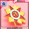 Emblema do Pin de metal do logotipo do projeto do cliente