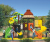 2015 Selling caliente Outdoor Playground Slide con GS y TUV Certificate (QQ14010-1