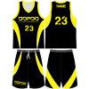 Uniforme Sublimated juventude personalizado do basquetebol com tela de engranzamento