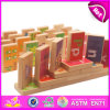 2014 Imagination novo Wooden Domino Game para Kids, Colorful Wooden Domino Toy para Children, Play Wooden Domino Toy para Baby W15A007