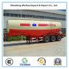 반 60m3 유조 트럭 트레일러 3개의 차축을%s 가진 대량 시멘트 유조선