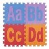 El alfabeto inglés pone letras a la estera suave de EVA Eco de la espuma de 26 de las cartas de la capita de las cartas cartas del inglés del alfabeto de la estera cómoda material del rompecabezas