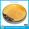 Zolla di ceramica della grattugia di colore giallo delle innovazioni dei cuochi