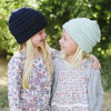 子供の子供の秋の冬の暖かい編まれただらしない十字はキャップする帽子によって編まれるねじられたケーブルの帽子(HW600)を