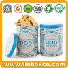Poder de estaño de la galleta de perro para las galletas del alimento de animal doméstico que empaquetan el rectángulo