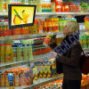 Multimedias del LCD de 15 pulgadas que hacen publicidad del jugador (ALAP-150C)
