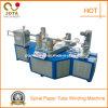 4 Köpfe winden sich der Papierkern, der Maschine bildet