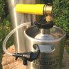 Spear Tap Regulatorの128oz/One Gallon Stainless Steel Beer Keg