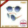 2015 lunettes de soleil de mode d'été et verres ronds