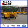 3 Radachsen 20FT/40FT/45FT Skeleton/Flatbed Container Trailer
