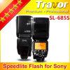 Travor SL-685s Flash Speedlite para Sony DSLR con Alto-Speed Synchronous y la TTL