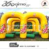 Fluxo inflável amarelo do futebol (BMSG146)