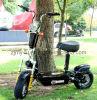 Bici plegable de aluminio del tablero 48V 800W, mini vespa eléctrica que practica surf del motor sin cepillo del eje de Evo del neumático del camino