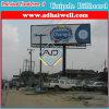 O dobro toma o partido quadro de avisos espetacular do anúncio ao ar livre de construção de aço