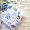 Пакет Of3 Washcloth стороны хлопка двойной