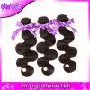 malaysisches gerades Haar 3bundles der Jungfrau-7A mit Silk Spitze-Schliessen Maylasian der Spitze-Schliessen-Methoden-Mitte/Free/3 einschlaghaar-Extensionen