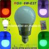6W RVB Bulb Lamp avec Remote Controller
