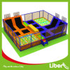 Capretti Foam Pit Park Used Cheap Trampolines con Enclosures