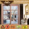 Раздвижная дверь Yadian алюминиевая для нутряного и экстерьер Using