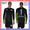 Progettare l'uniforme per il cliente della Jersey del portiere di gioco del calcio