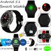 reloj androide del teléfono 3G con el monitor del ritmo cardíaco (DM368)