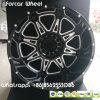 アルミニウム20*12j 20*14jオフロード軽トラック車の合金の車輪