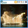 musical 3D danse programmable de fontaine d'acier inoxydable de 360 degrés