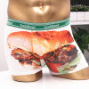 Fancy Printing를 가진 백색 Color Boxer Underwear