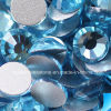 No diamantes del arreglo del pegamento de los granos del Rhinestone de la parte posterior plana de Hotfix (aquamarine FB-ss16)