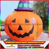 Decoratie van de Pompoen van Halloween van de best-verkoop de Reuze Opblaasbare met LEIDEN Licht