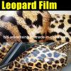 Nuovo Arrival Leopard Skin Car Wrap Film con Air Channels 1.52*30m