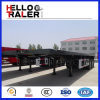 2016 neue 40FT Flatbed Container Trailer für Sale