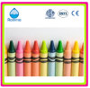 Qualità e Social Audited Color Wax Crayons Bulk/Packed 4/6/8/12/15/16/24/36/48/64