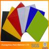 Colorear la tarjeta de acrílico del acrílico del plástico PMMA de la tarjeta del plexiglás
