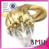 Capelli del ciclo dell'anello di Mlaysian dei capelli umani di Remy micro