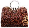 Sacs à main de léopard de dames de sacs à main de cuir de mode de femmes de qualité