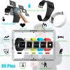 Waterdichte Slimme Manchet Bluetooth met de Monitor van het Tarief van het Hart (X9Plus)