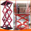 Élévateur utilisé de levage de ciseaux pour la cargaison de levage de matériau de cadre d'entrepôt