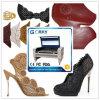 Lederne Schuh-Laser-Ausschnitt-Maschine für Schuh-Fabrik