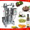 Máquina fría de la extracción de petróleo de la prensa de la almendra de la grasa animal del cacahuete