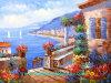 Pittura a olio, pittura a olio Handmade, pittura a olio di paesaggio