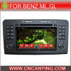 Androïde Car DVD Player voor Benz Ml Gl met GPS Bluetooth (advertentie-7104)