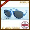 Les lunettes de soleil bleues nobles d'armature en métal pour les enfants (FK15010)