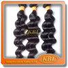 O cabelo indiano frouxo /Can da onda 3A Remy faz o lucro